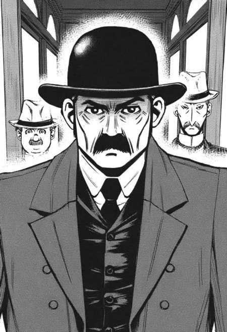 Inspector Justin Ganimard (Character) - Comic Vine