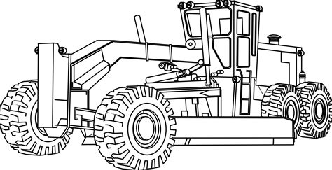 construction coloring pages printable pictures of construction equipment artfavor