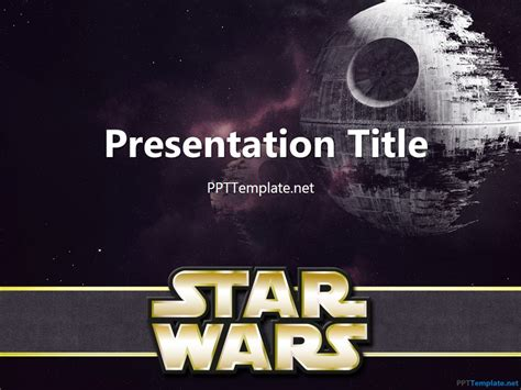 free wars with logo ppt template