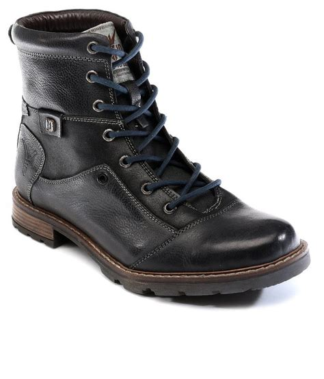 deals on mens boots id 9005 charcoal boots snapdeal price boots deals at