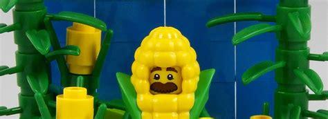 Lego Minifigures Series 17 Corn lego collectible minifigures series 17 vignettes corn cob 2 brick fanatics