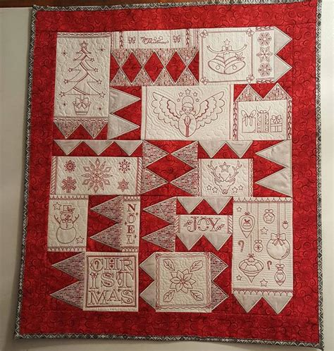 quilt pattern v embroidery designs machine embroidery patterns christmas redwork quilt