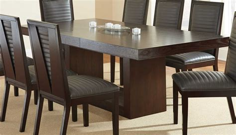Nine Dining Room Set by Steve Silver Zappa 9 Dining Room Set In Medium