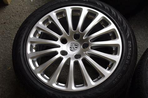 porsche oem wheels set of four 2014 2015 porsche panamera 19 quot oem rims wheels