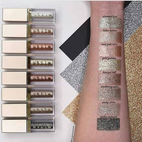 Stila Set 3 Pcs 88 best images about magnificent metals glitter glow eyeshadow on glow satin and