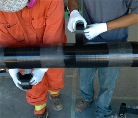 Polyken Wrapping polyken pipeline from protection engineering