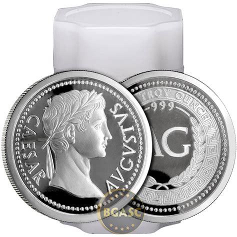 1 Oz Design Silver 999 by Buy 1 Oz Silver Rounds Caesar Augustus 999 Silver