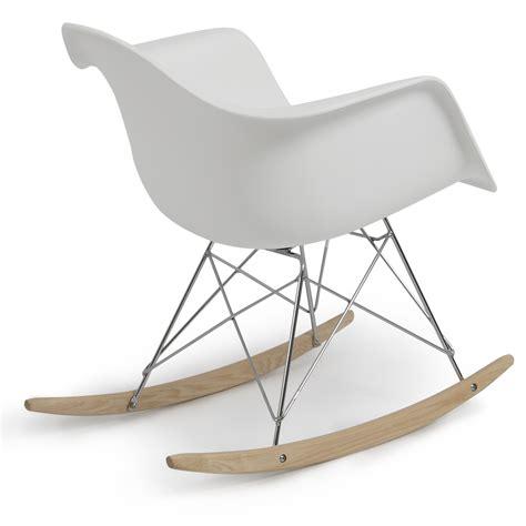 eames style rar rocking chair eames rar style mid century modern molded plastic rocking