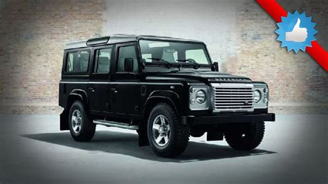 land rover defender 2015 black 2015 land rover defender black silver pack for geneva