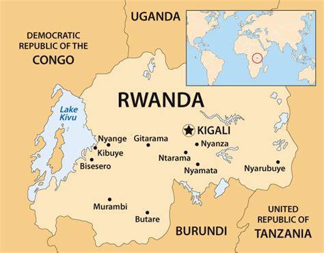 rwanda map genocide in rwanda