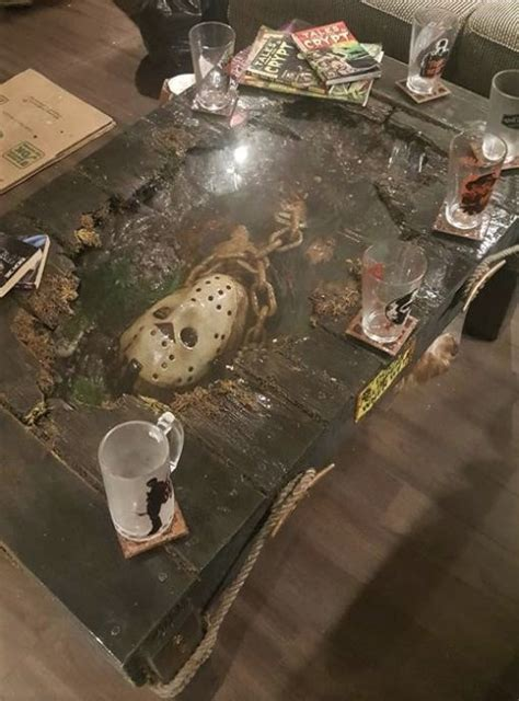 jason voorhees coffee table jason voorhees coffee table zombies
