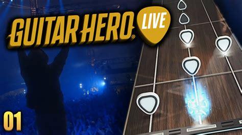 tutorial guitar hero live guitar hero live 01 tutorial our pasts collide sound