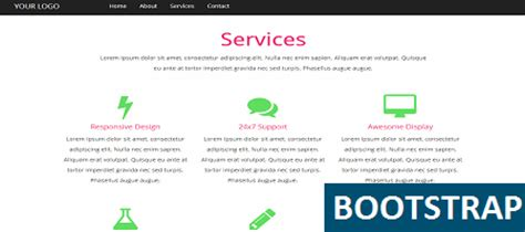 bootstrap theme service free bootstrap services template free to use