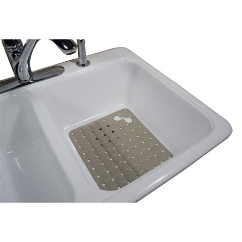 Kitchen Sink Mat Rubbermaid Large White Sink Mat Home Kitchen Kitchen Utility Hardware Sink Mats