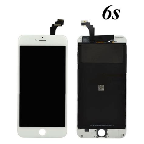 apple iphone 6s white 4 7 lcd touch screen digitizer assembly replacement wholesale cell phone