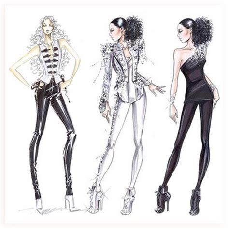 fashion illustration model sketches of fashion designing dress fashion belief