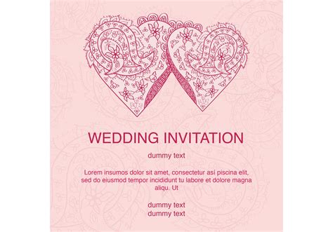 Wedding Card Vector by Indian Wedding Cards Vector Clipart 22