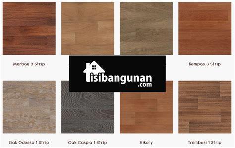 Pelapis Motif Kayu jenis stiker lantai motif kayu vinyl