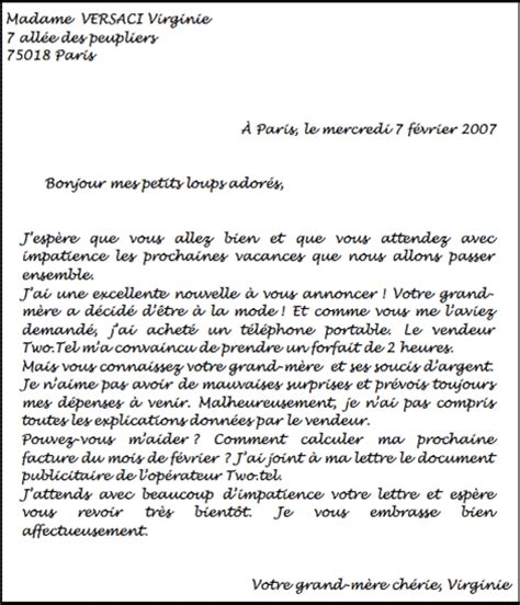 Exemple De Lettre Epistolaire Modele Lettre Manuscrite