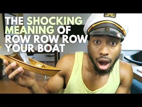 row the boat logo the shocking meaning of row row row your boat steemit