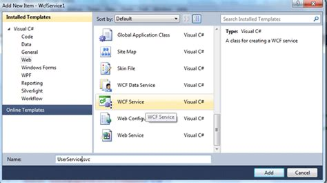 repository pattern wcf c how to create and consume wcf services