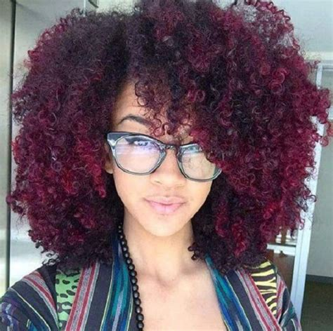 natural hairstyles with dye natural hair colors hergivenhair