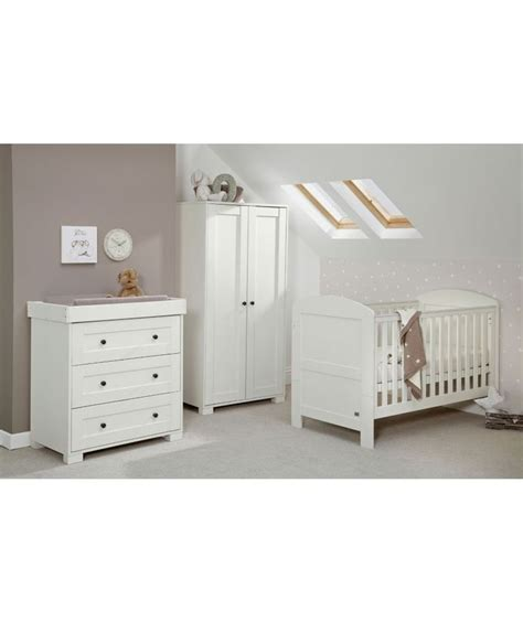 white nursery sets furniture buy mamas papas harrow 3 nursery furniture set
