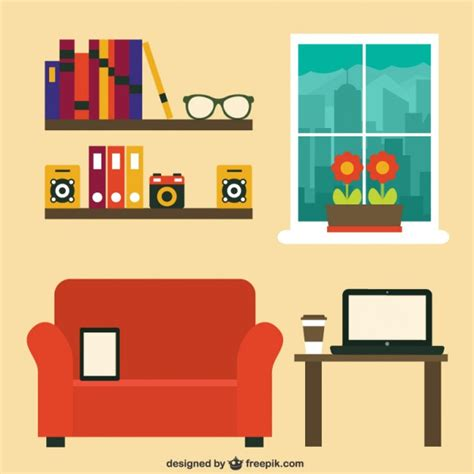 modern home design vector modern home office vector free