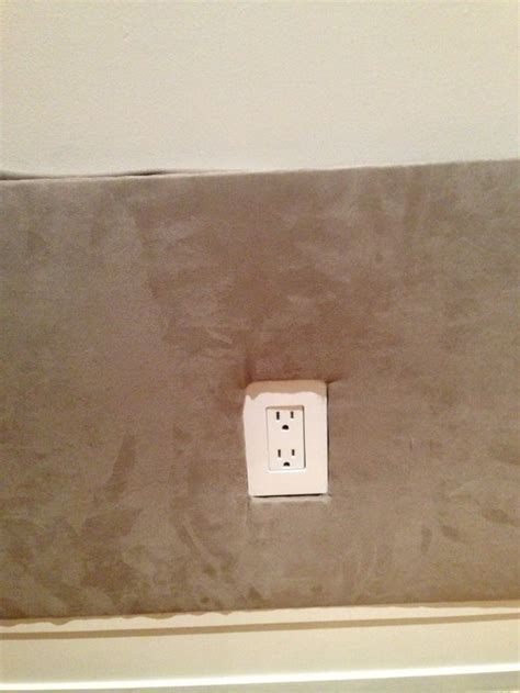 padded walls help with padded fabric wall around electrical receptacles