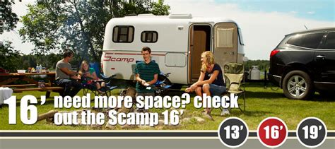 Scamp Floor Plans by Scamp The Small Trailer Enthusiast