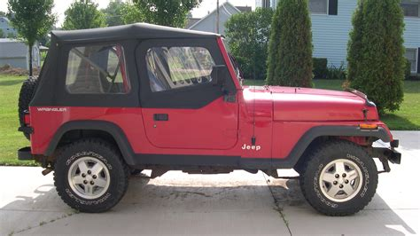 what is a yj jeep emmett pettey sold 1992 jeep yj wrangler