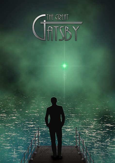The Green Light Great Gatsby by Gatsby I With Gatsby
