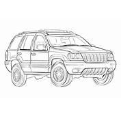 Ausmalbilder Malvorlagen – Jeep Kostenlos Zum Ausdrucken