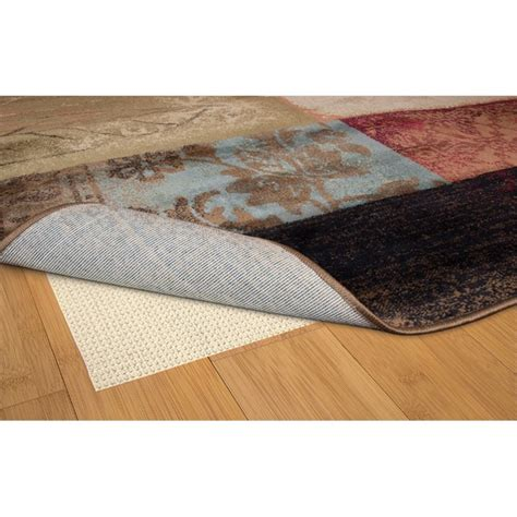 grip rug weavers sure grip 1 8 quot x 3 4 quot rug pad in beige 748679209675