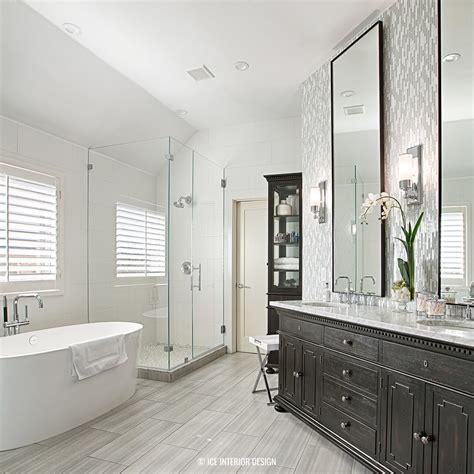 Modern Master Bathroom Design by A Contemporary Master Bath Remodel Via Interior Design Pre