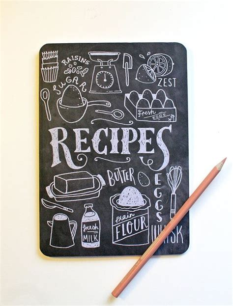 recipe book pictures a5 blank notebook lettered recipe book recipe