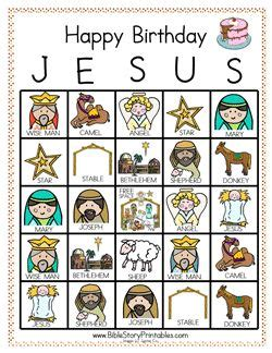printable happy birthday jesus cards happy birthday birthdays and happy on pinterest