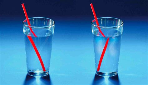 Light Bending by What Is Refraction Enotes