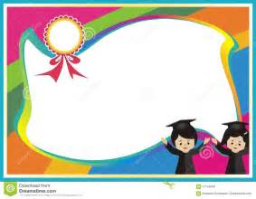 templates for children certificate background design for clipartsgram