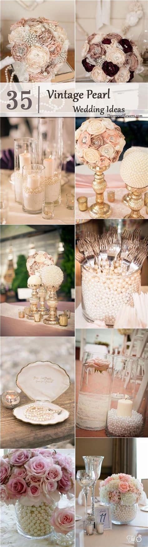 best 25 pearl centerpiece ideas on lace