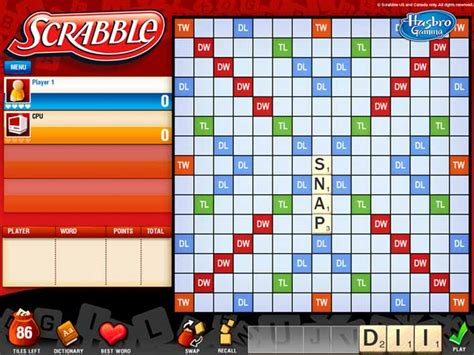 scrabble gratis all