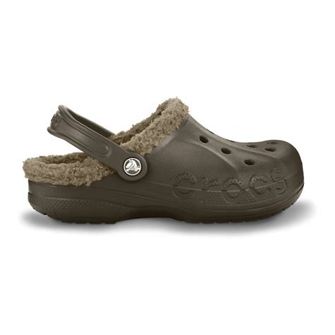 crocs shoes crocs crocs baya lined espresso khaki b19 unisex shoes