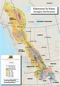 rockies map america the physical geography of yellowstone national park