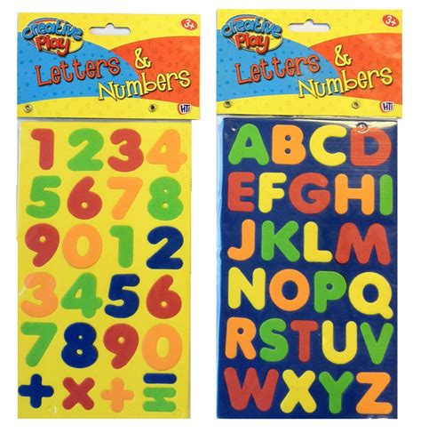 Letter And Number foam magnetic letters and numbers educational toys gifts