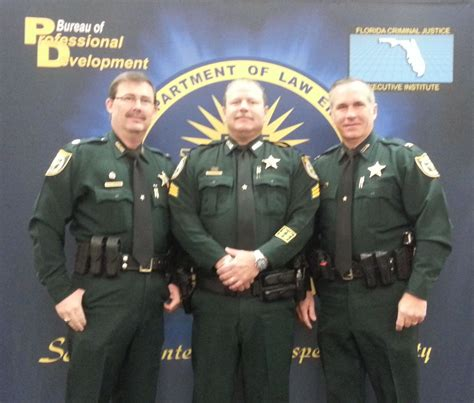 Clay County Sheriff Office by Clay Sergeant Graduates From Leadership Academy