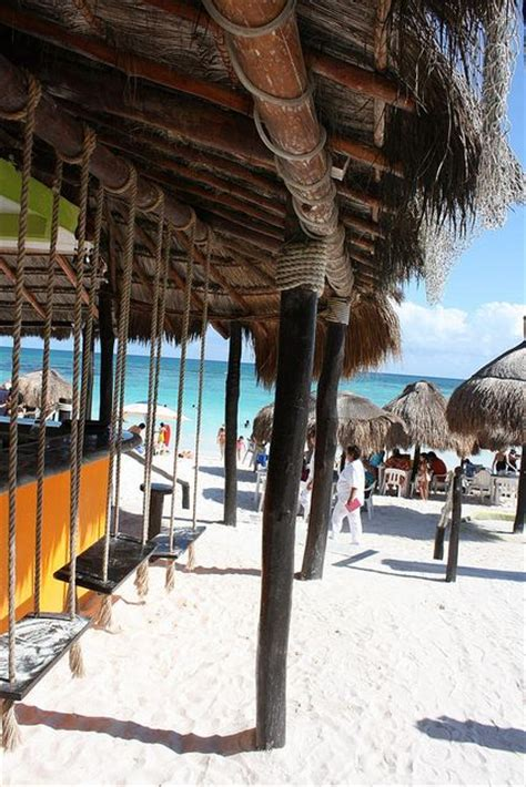 playa del carmen bar with swings playa del carmen mexico m 201 xico estados de m a z