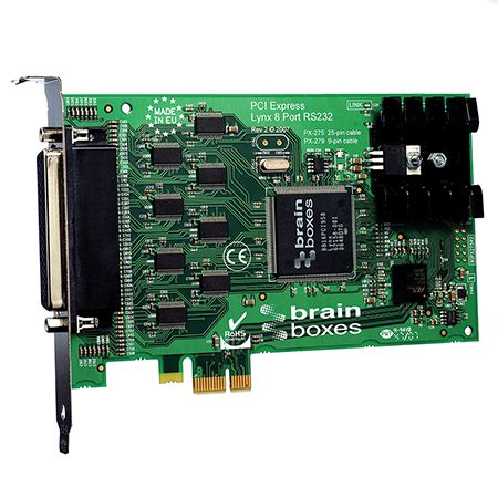 Serial 8 Port Pci Card 8 port rs232 pci express serial card 25 pin connectors