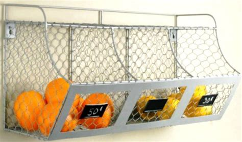 Countertop Fruit Storage by Creative Idea Of Wall Mounted Fruit Basket Homesfeed