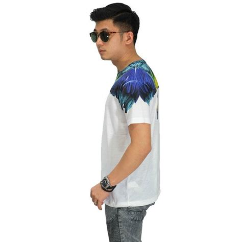 Kaos Pria Baju Pria Kaos Printing kaos printing rainbow wings front back kaos pria