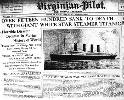 The Newspaper Essay by Titanic Did You Soul Project